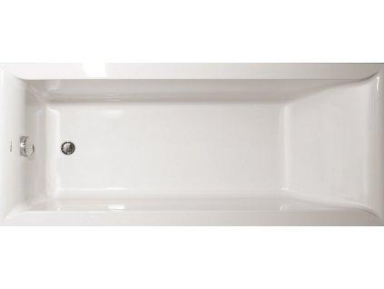 Vagnerplast Veronela obdélníková vana 160 x 70 x 45cm VER160 - Vany > Obdelníkové vany