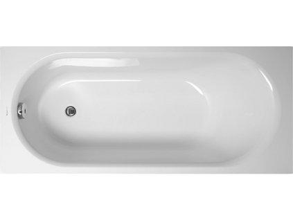 Vagnerplast Kasandra obdélníková vana 150 x 70 x 45cm KAS150 - Vany > Obdelníkové vany
