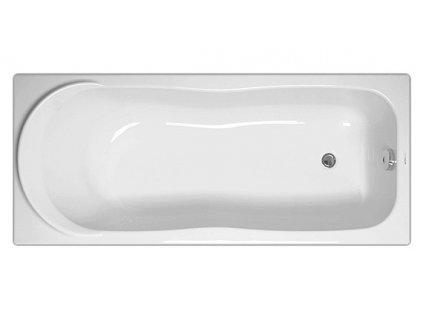 Vagnerplast Penelopé obdélníková vana 170 x 70 x 40cm PEN170 - Vany > Obdelníkové vany