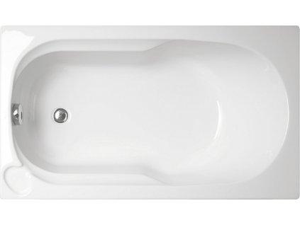 Vagnerplast Niké obdélníková vana 120 x 70 x 35cm NIKE120 - Vany > Obdelníkové vany