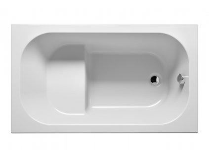 Riho Petit vana 120 x 70 BZ25 - Vany > Obdelníkové vany