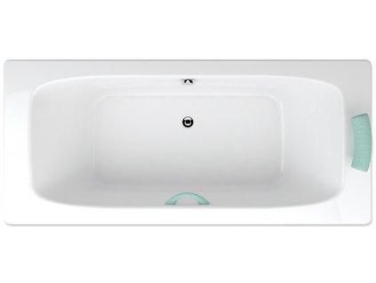 Teiko Klasik C obdélníková vana 180 x 80 VVK0701 - Vany > Obdelníkové vany