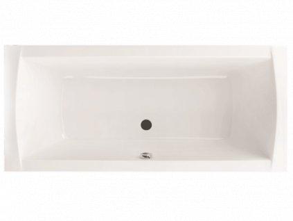 Santech Spring obdélníková vana 180 x 80 SASPR180 - Vany > Obdelníkové vany