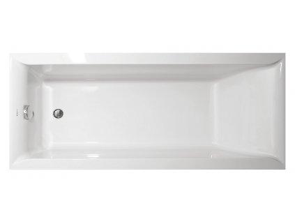 Vagnerplast Linos 160x70 Vana obdélníková s podporou MK45194 - Vany > Obdelníkové vany