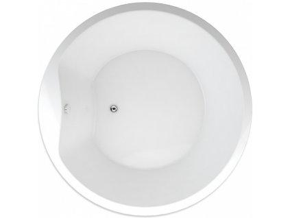 Teiko Space 160 vana kruhová 160 cm SPACE160 - Vany > Kruhové vany