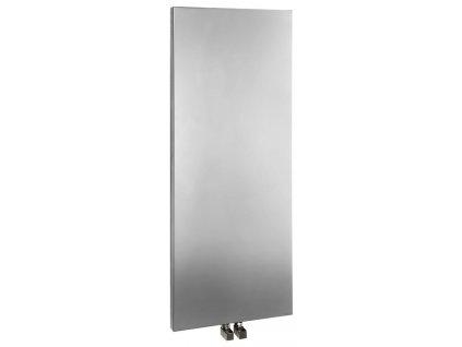 Otopné těleso / radiátor / topný žebřík: SAPHO MAGNIFICA otopné těleso 456 x 1206mm, metalická stříbrná IR132 od značky Sapho. Série: Magnifica. Šířka: 456 mm. Výška: 1206 mm. Výkon: 549 W. Barva: Stříbrná. Materiál: Ocel. Možnost vytápění: Ústřední vytápění. Doporučená topná tyč o výkonu: 500 W. Doporučené umístění: Koupelna. Rozměry (šxv): 456 x 1206 mm. Rozteč připojení 50 mm: Symetrické (na střed). Rozteč připojení přesně: 50 mm. Styl: Designový. Tvar: Designový, Deskový. Výbava: Držák ručníků: doplňková výbava. Připojení: Středové připojení.