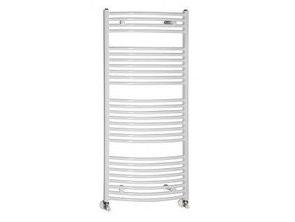 Otopné těleso / radiátor / topný žebřík: NOVASERVIS kombinovaný topný žebřík oblý bílý 600 x 1200 mm 600/1200/R,1 600/1200.1 od značky Novaservis. Série: Aqualine. Šířka: 600 mm. Výška: 1200 mm. Barva: Bílá. Materiál: Ocel. Možnost vytápění: Kombinované vytápění, Ústřední vytápění. Doporučené umístění: Koupelna. Rozměry (šxv): 600 x 1200 mm. Tvar: Oblý.
