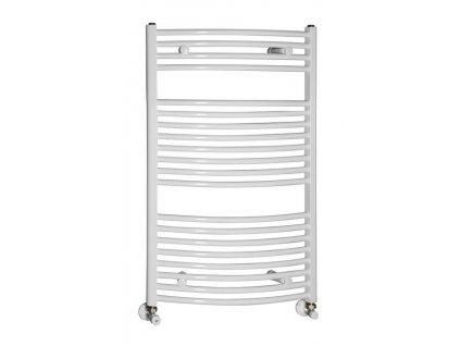 Otopné těleso / radiátor / topný žebřík: NOVASERVIS kombinovaný topný žebřík oblý bílý 450 x 900 mm 450/900,1 450/900.1 od značky Novaservis. Série: Aqualine. Šířka: 450 mm. Výška: 900 mm. Barva: Bílá. Materiál: Ocel. Možnost vytápění: Kombinované vytápění, Ústřední vytápění. Doporučené umístění: Koupelna. Rozměry (šxv): 450 x 900 mm. Tvar: Oblý.