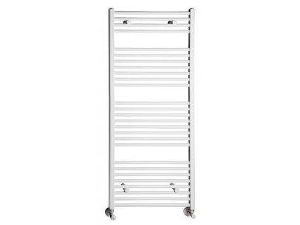 Otopné těleso / radiátor / topný žebřík: NOVASERVIS kombinovaný topný žebřík rovný bílý 600 x 1600 mm 600/1600/R,1 600/1600/R.1 od značky Novaservis. Série: Aqualine. Šířka: 600 mm. Výška: 1600 mm. Barva: Bílá. Materiál: Ocel. Možnost vytápění: Kombinované vytápění, Ústřední vytápění. Doporučené umístění: Koupelna. Rozměry (šxv): 600 x 1600 mm. Tvar: Rovný.