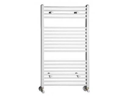 Otopné těleso / radiátor / topný žebřík: NOVASERVIS kombinovaný topný žebřík rovný bílý 450 x 900 mm 450/900/R,1 450/900/R.1 od značky Novaservis. Série: Aqualine. Šířka: 450 mm. Výška: 900 mm. Barva: Bílá. Materiál: Ocel. Možnost vytápění: Kombinované vytápění, Ústřední vytápění. Doporučené umístění: Koupelna. Rozměry (šxv): 450 x 900 mm. Tvar: Rovný.