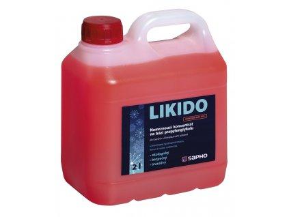 LIKIDO nemrznoucí teplonosná směs do otopných těles, 2 l LIKIDO