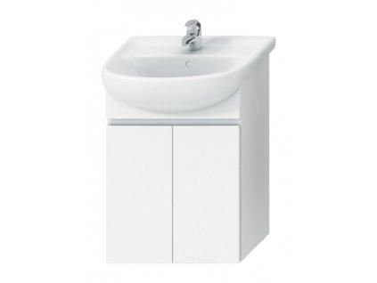Jika Skříňka pod umyvadlo 55cm s 2 dveřmi H4531110383001  bílá/bílá