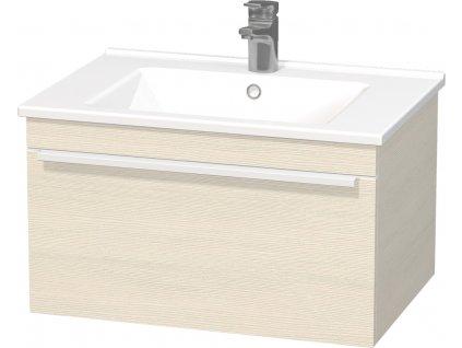 Intedoor Lucca LC 65 24 skříňka spodní 65 cm s keramickým umyvadlem LC 65 24  65×45×46cm
