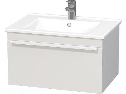 Intedoor Lucca LC 65 01 MAT Skříňka spodní 65 cm s keramickým umyvadlem LC 65 01 MAT  65×45×46cm