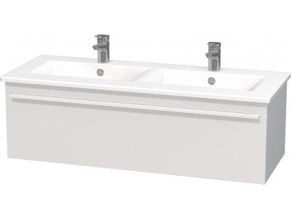 Intedoor Lucca LC 120D 01 MAT skříňka spodní 120 cm s keramickým dvojumyvadlem LC 120D 01 MAT  120×46×46cm
