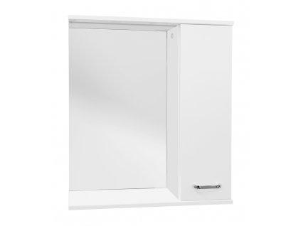 Armatura SELLA SILVER 50 P Zrcadlová skříňka s LED STRIP osvětlením 50 - PRAVÁ 1695-202-751