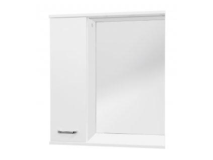 Armatura SELLA SILVER 55 L Zrcadlová skříňka s LED STRIP osvětlením 55 - LEVÁ 1695-202-755