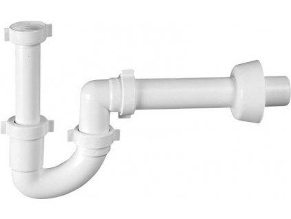 Umyvadlový sifon, 1'1/4, odpad 40 mm, bílá