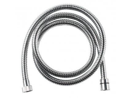 AQUALINE FLEX sprchová nerezová hadice s dvojitým zámkem, 150 cm