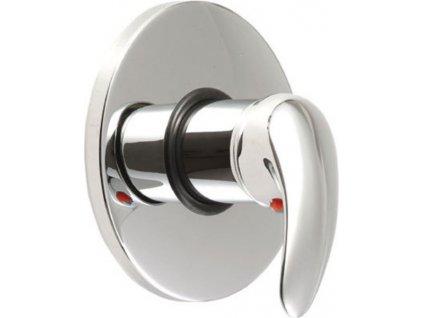 AQUALINE KASIOPEA podomítková sprchová baterie, 1 výstup, chrom 1107-41 - Vodovodní baterie > Sprchové baterie