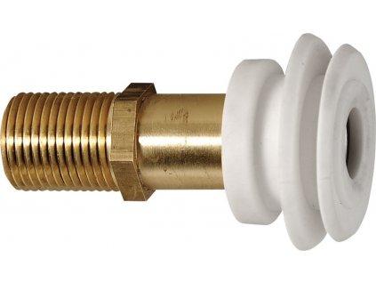 AQUALINE Vtoková armatura pro urinály se zakrytým přívodem