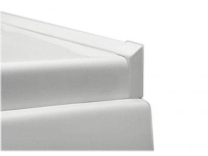 POLYSAN Krycí lišta okolo vany 2x195cm, 2x roh, 2x ukončení