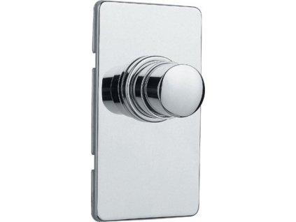 QUIK samouzavírací podomítkový WC ventil, chrom QK82051 - Vodovodní baterie > Podomítková tělesa
