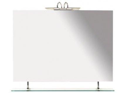 SAPHO WEGA zrcadlo 900x800mm, s policí