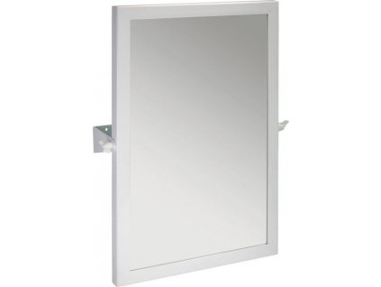 Sapho Zrcadlo výklopné 40x60cm, bílá XH006