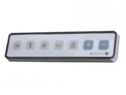 POLYSAN HM systém TURBO AIR, ovládání Typ A - Elektro TBA - Vany > Hydromasážní systémy