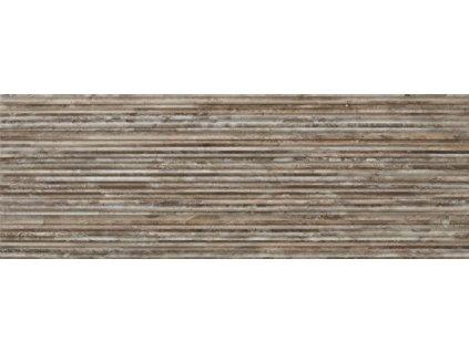 ZEUS Dark Stone 25x70 (bal.= 1,43m2) od výrobce Mapisa. Série: ZEUS. Styl: imitace. Rozměry: 25x70. Balení: 1,4300 m2. Materiál: keramika. Barva: teplá. Použití: obklad. Povrch: satén. Umístění: koupelna. Produkt z kategorie: Obklady a dlažby > Dekorativní obklady. <p>Z důvodu zvýšených nákladů na logistiku obkladů a dlažeb je <strong>minimální hodnota celkové objednávky 15.000 Kč</strong> (hodnota objednávky je součet všech objednaných produktů).</p>