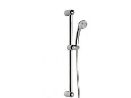 AQUALINE PIANI sprchová souprava, posuvný držák, chrom