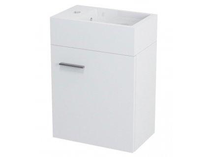 Sapho LATUS V umyvadlová skříňka 35,6x40x23cm, bílá (LT056) - LT056-3030