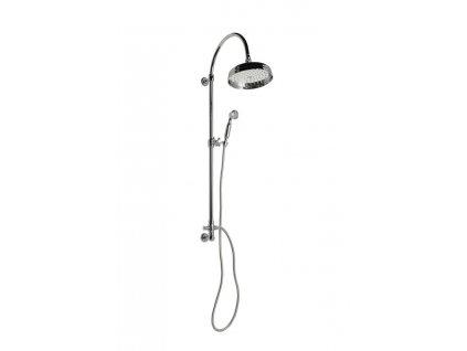 REITANO VANITY sprchový sloup s připojením vody ze zdi, retro, chrom SET051