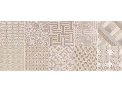 URBAN-UN Decor Beige 23,5x58 (bal.=1,23m2) od výrobce Unicer. Série: URBAN Unicer. Styl: patchwork. Rozměry: 23,5x58. Balení: 1,2300 m2. Materiál: keramika. Barva: béžová. Použití: obklad. Povrch: mat. Umístění: koupelna, kuchyň. Série obkladů URBAN je inspirována ruchem velkoměsta a jeho pulsujícími proměnami. Produkt z kategorie: Obklady a dlažby > Dekorativní obklady. <p>Z důvodu zvýšených nákladů na logistiku obkladů a dlažeb je <strong>minimální hodnota celkové objednávky 15.000 Kč</strong> (hodnota objednávky je součet všech objednaných produktů).</p>