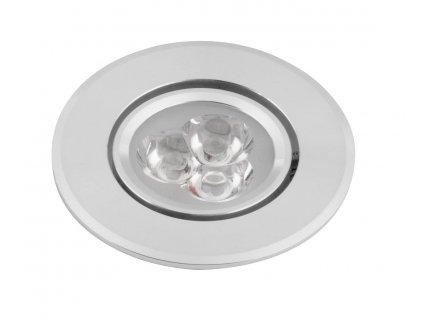 SAPHO DORIN LED podhledové svítidlo 3x1W, 230V, 68 mm, studená bílá, 60 st.