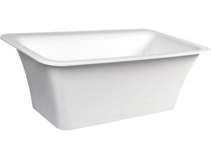 POLYSAN SAIMA volně stojící vana, akrylát, 176x95x60cm, bílá 72360 - Vany > Volně stojící vany