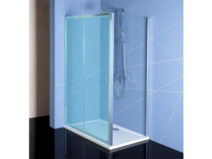 POLYSAN EASY LINE sprchová boční stěna 700mm, čiré sklo