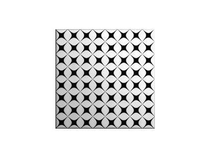 BLACK&WHITE Decor Mix 20X20 (1bal=1m2) od výrobce CAS Cerámica. Série: BLACK & WHITE CAS. Styl: art-deco, glamour, moderní styl, patchwork. Rozměry: 20x20. Balení: 1,0000 m2. Materiál: keramika. Barva: mix. Použití: obklad. Povrch: satén. Umístění: koupelna, kuchyň. Mix dekorů v balení Neotřelá série obkladů v černém, bílém a černobílém provedení. Produkt z kategorie: Obklady a dlažby > Dekorativní obklady. <p>Z důvodu zvýšených nákladů na logistiku obkladů a dlažeb je <strong>minimální hodnota celkové objednávky 15.000 Kč</strong> (hodnota objednávky je součet všech objednaných produktů).</p>