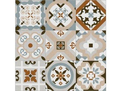 SETTECENTO 60 Lux60x60 (bal=1,08m2) od výrobce Azteca. Série: WOODLIFE & SETTECENTO. Styl: art-deco, moderní styl, patchwork, retro. Rozměry: 60x60. Balení: 1,0800 m2. Materiál: keramika. Barva: mix. Použití: obklad, dlažba. Povrch: mat. Umístění: chodba, koupelna, kuchyň, obývací pokoj, technický prostor. Různě promíchané vzory. Produkt z kategorie: Obklady a dlažby > Dekorativní obklady. <p>Z důvodu zvýšených nákladů na logistiku obkladů a dlažeb je <strong>minimální hodnota celkové objednávky 15.000 Kč</strong> (hodnota objednávky je součet všech objednaných produktů).</p>