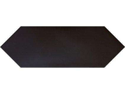 KITE Black 10x30 (EQ-5) (1bal=1m2) od výrobce Equipe. Série: KITE. Styl: art-deco, moderní styl, patchwork, retro. Rozměry: 10x30. Balení: 1,0000 m2. Materiál: keramika. Barva: studená. Použití: obklad, dlažba. Povrch: mat. Umístění: chodba, koupelna, kuchyň, obývací pokoj, technický prostor. Produkt z kategorie: Obklady a dlažby > Dekorativní obklady. <p>Z důvodu zvýšených nákladů na logistiku obkladů a dlažeb je <strong>minimální hodnota celkové objednávky 15.000 Kč</strong> (hodnota objednávky je součet všech objednaných produktů).</p>