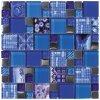 CARNAVAL Blue 30X30 od výrobce Intermatex. Série: INTERMATEX Mosaic. Styl: mozaika. Rozměry: 30x30. Materiál: sklo. Barva: mix. Použití: obklad. Povrch: lesk. Umístění: koupelna, kuchyň. Skleněné a keramické mozaiky na síti. Produkt z kategorie: Obklady a dlažby > Dekorativní obklady. <p>Z důvodu zvýšených nákladů na logistiku obkladů a dlažeb je <strong>minimální hodnota celkové objednávky 15.000 Kč</strong> (hodnota objednávky je součet všech objednaných produktů).</p>
