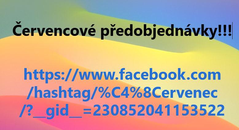 Předobjednávky, FB, červenec
