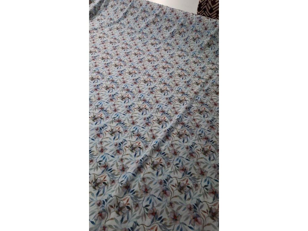 Silky květinové vzory za výhodnou cenu