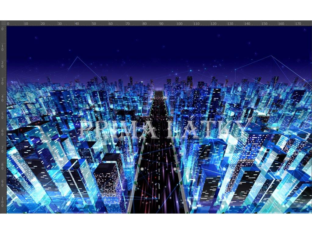 panel kyber město