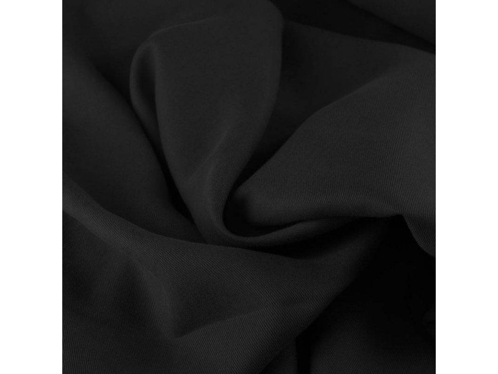 Tencel twill fabric black 800x800