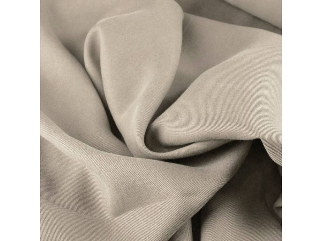 Tencel twill fabric light beige 800x800