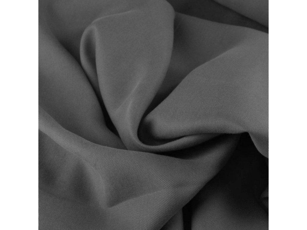 Tencel twill fabric grey 800x800