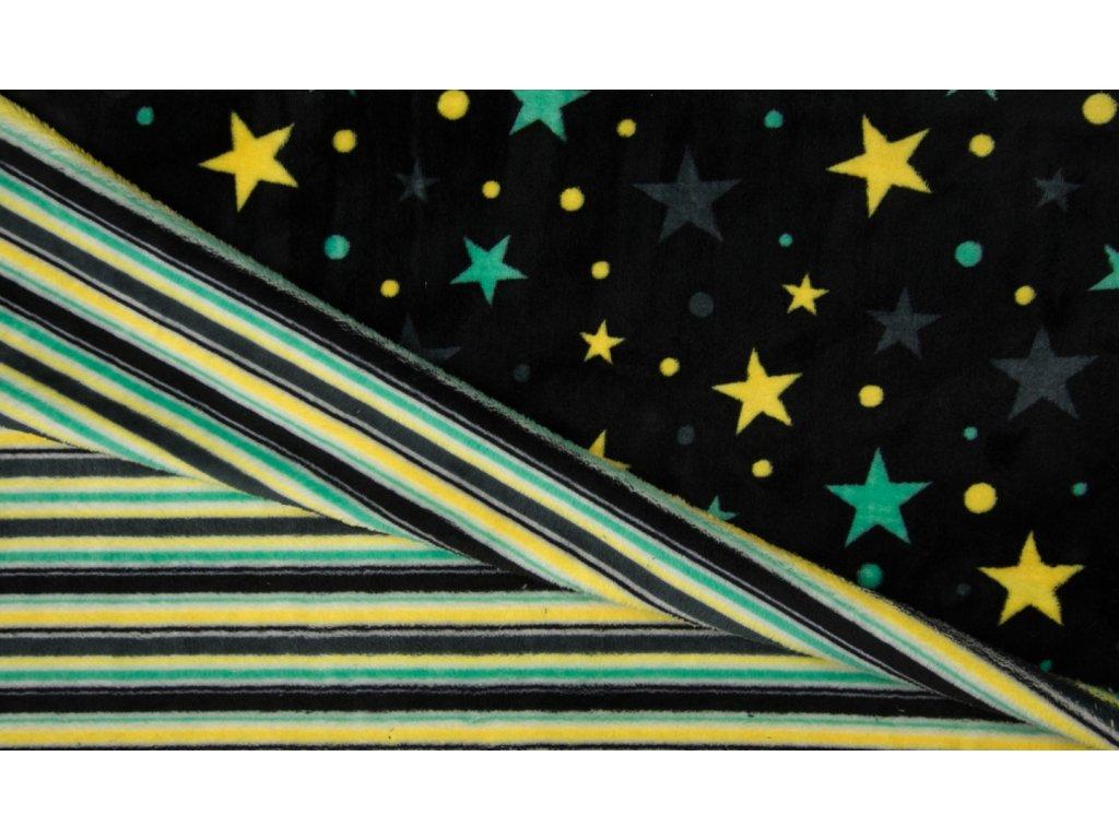 KC4014 469 hvězdy pruhem black