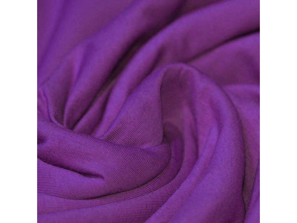 Baumwolle Tricot Violett 800x800